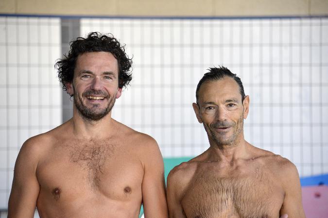 José Luis Gil y Luis Redondo