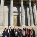 Representantes de mujeres con discapacidad y de Ciudadanos, ante el Congreso